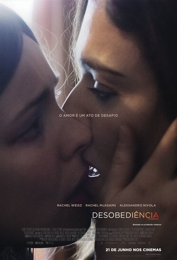 "Posters para ""Disobedience"""